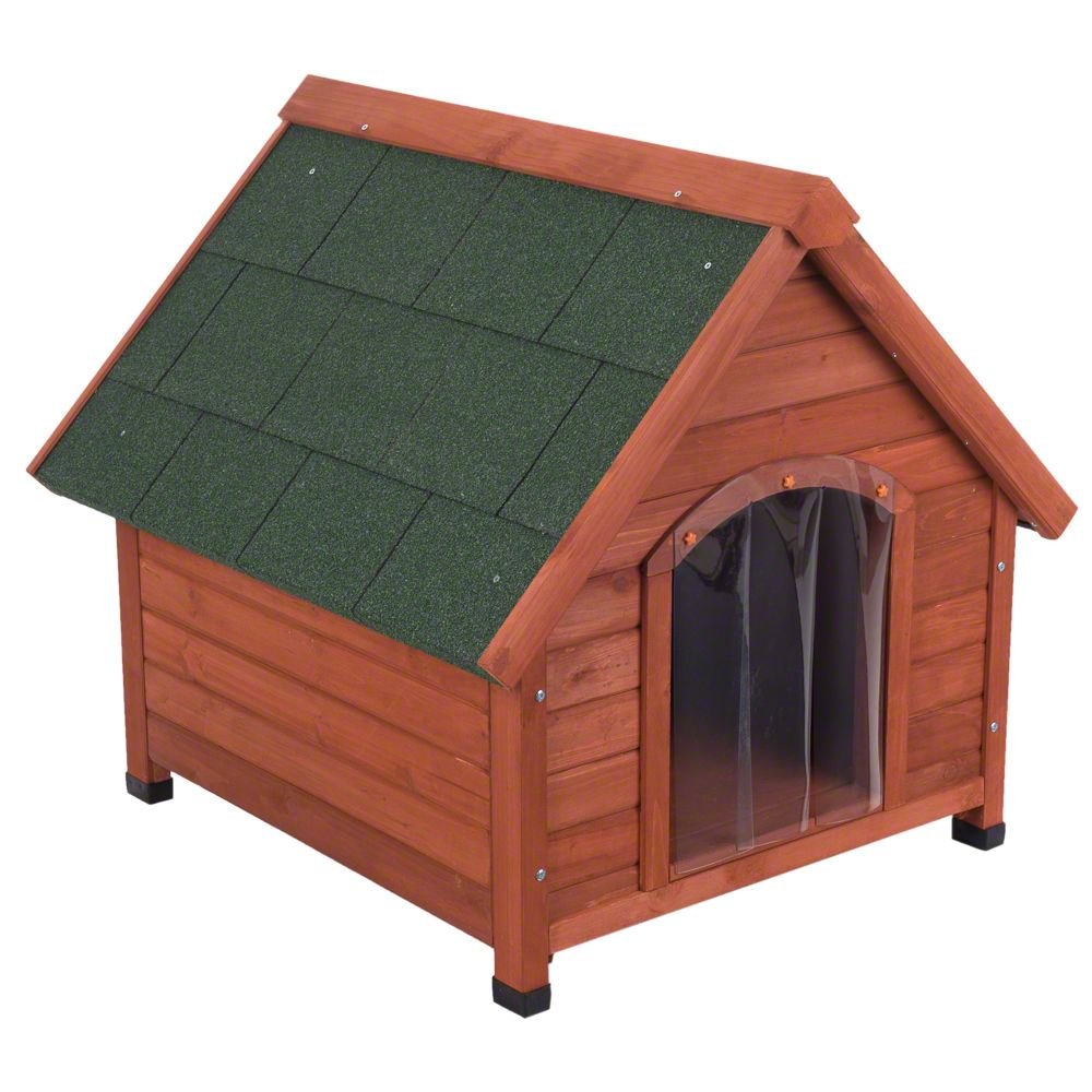 Hundehütte Spike 4-Seasons - Größe M: B 93 x T 86 x H 84 cm