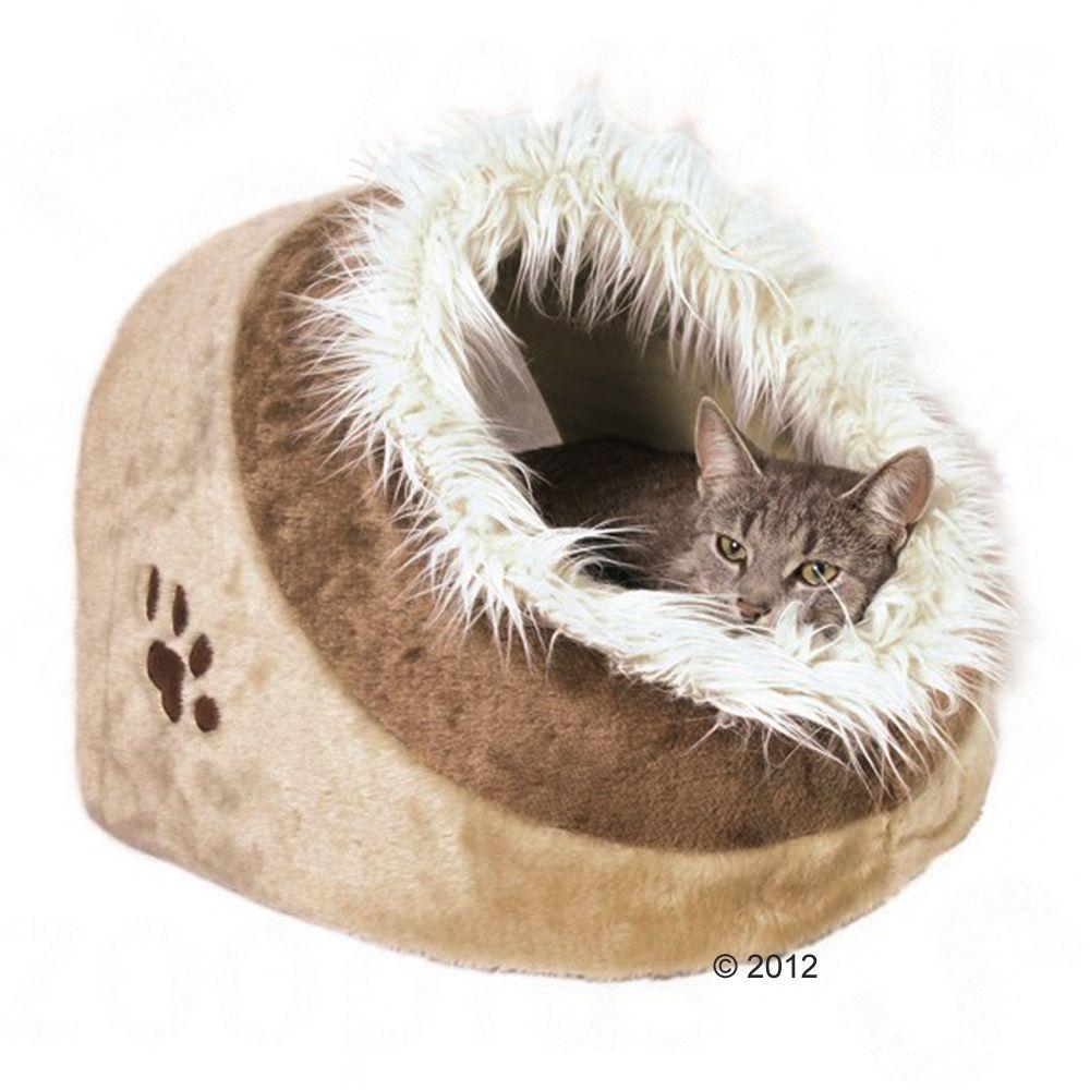 Chat Panier lit couverture Niche Niche pour chat en peluche