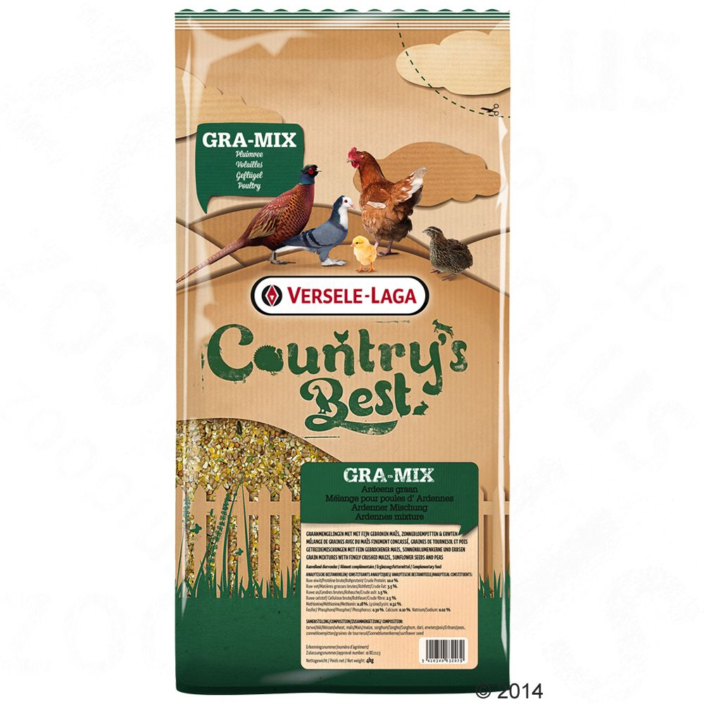 Versele-Laga Country´s Best Gra-Mix pour poules d´Ardennes - 20 kg
