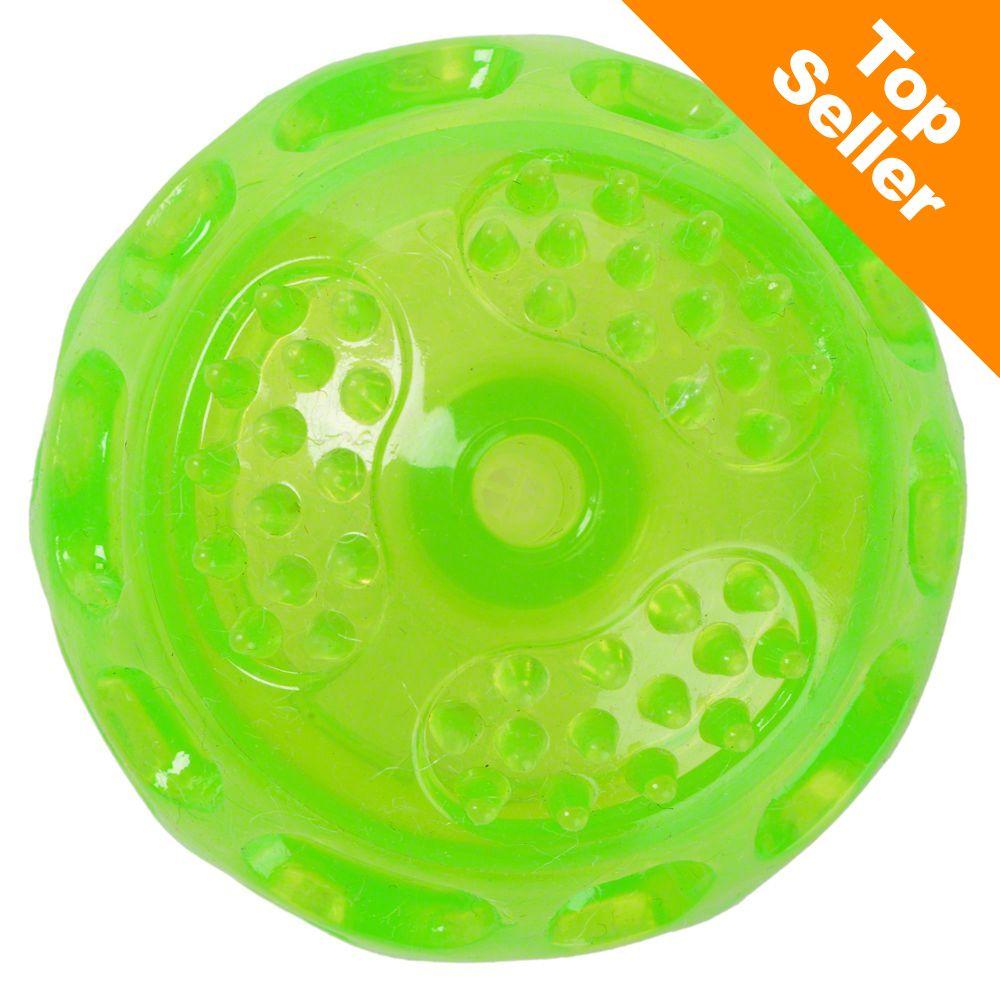 Piłka TPR z piszczałką - Ø 6 cm