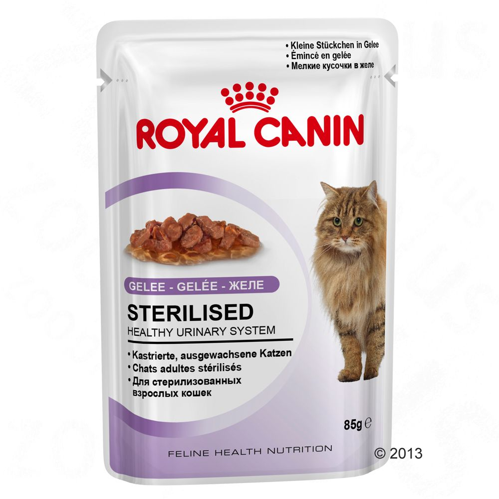 Royal Canin Sterilised in Gelee - 24 x 85 g