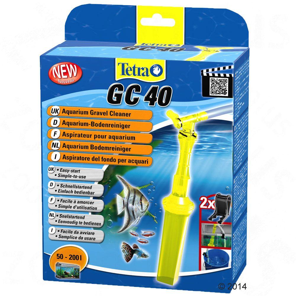 Odmulacz Tetratec GC 40 Komfort czyszczenia dna - GC 40, do akwariów o pojemności 50 - 200 l