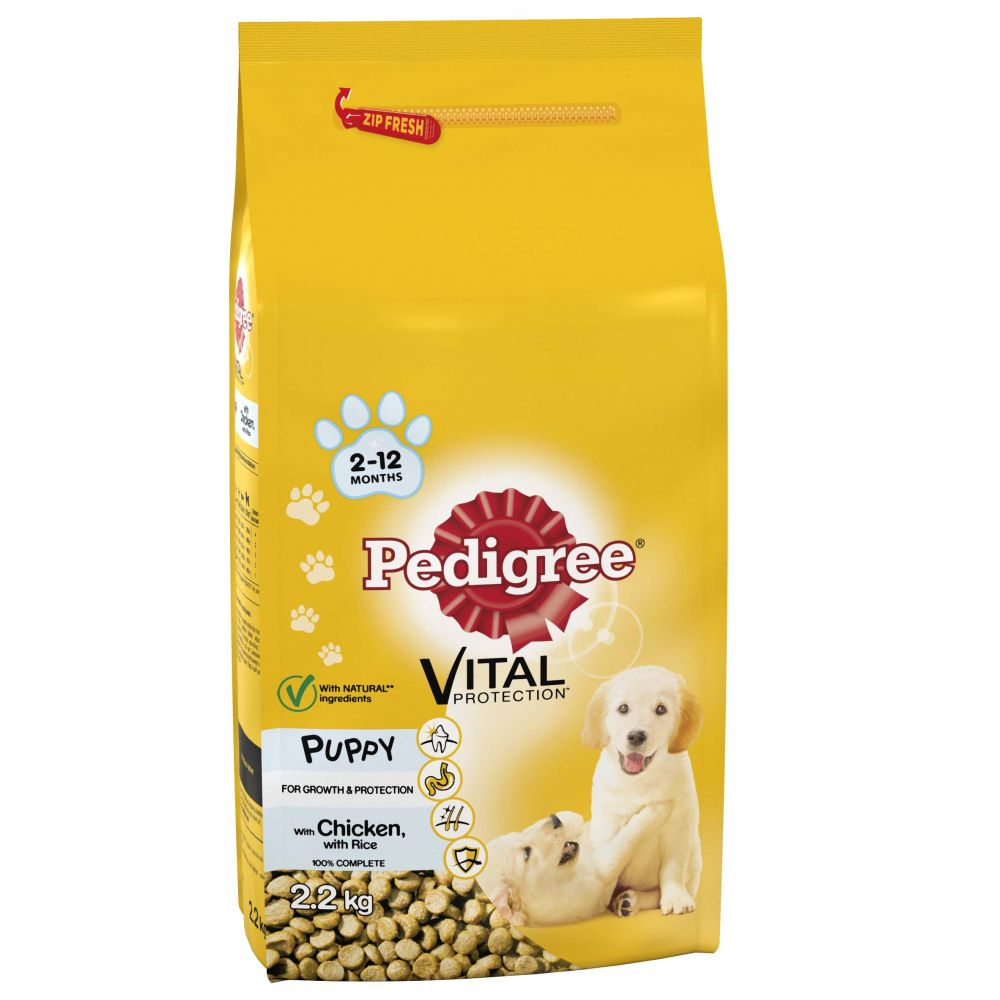 Pedigree Vital Puppy Protection - Chicken & Rice - Saver Pack: 2 x 13.2kg