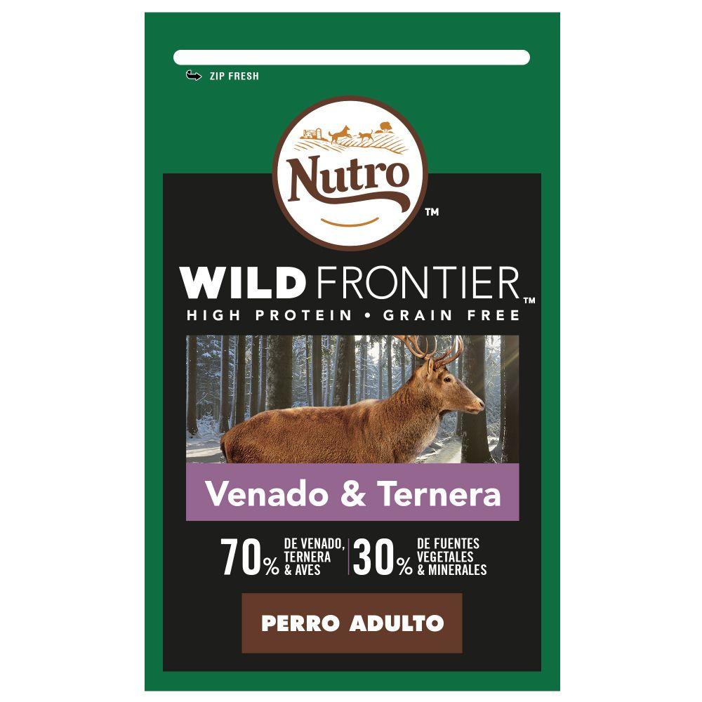 Nutro Wild Frontier Adult Venado y ternera para perros - 10 kg