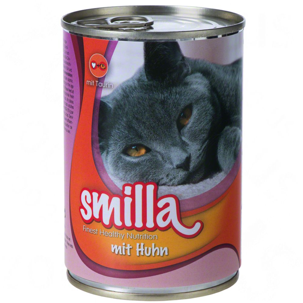 Smilla Mixed Saver Pack 60 x 400g - Chicken, Salmon & Beef