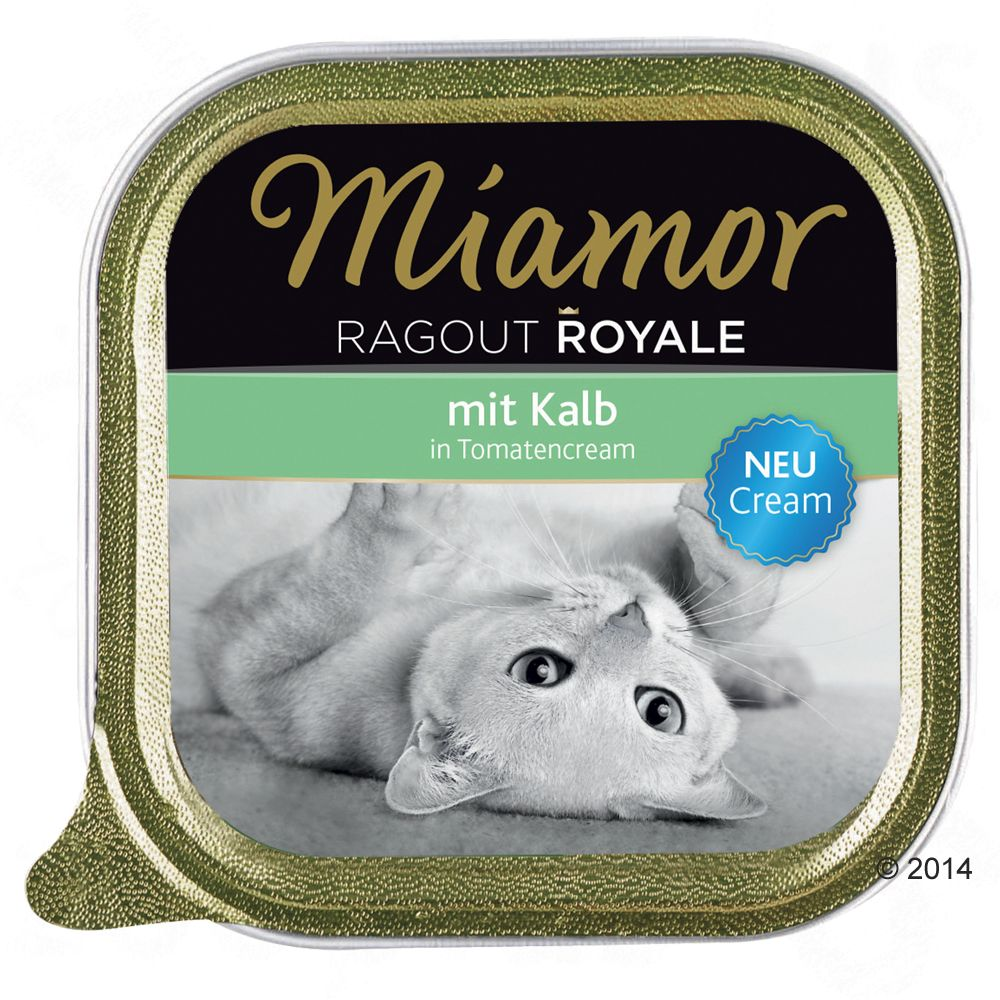 Miamor Ragout Royale Cream, 6 x 100 g - Kurczak w kremie z marchewek