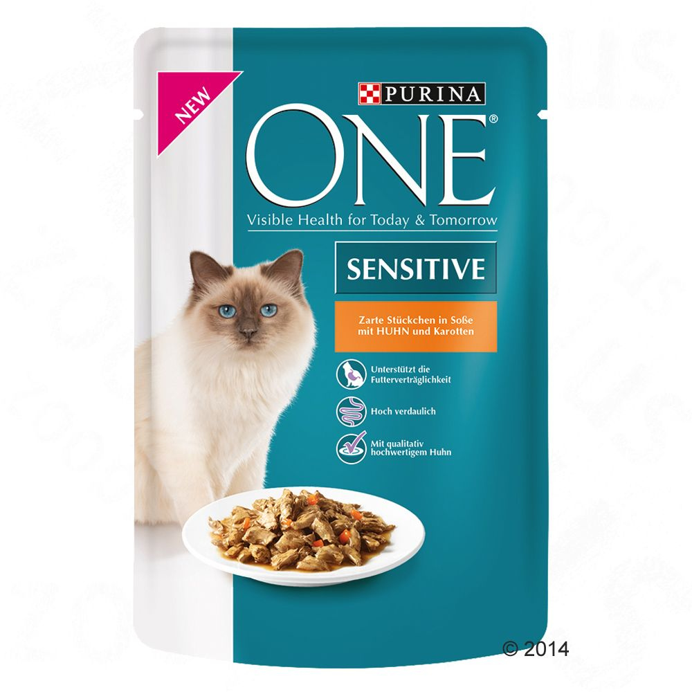 Purina ONE Sensitive, 6 x
