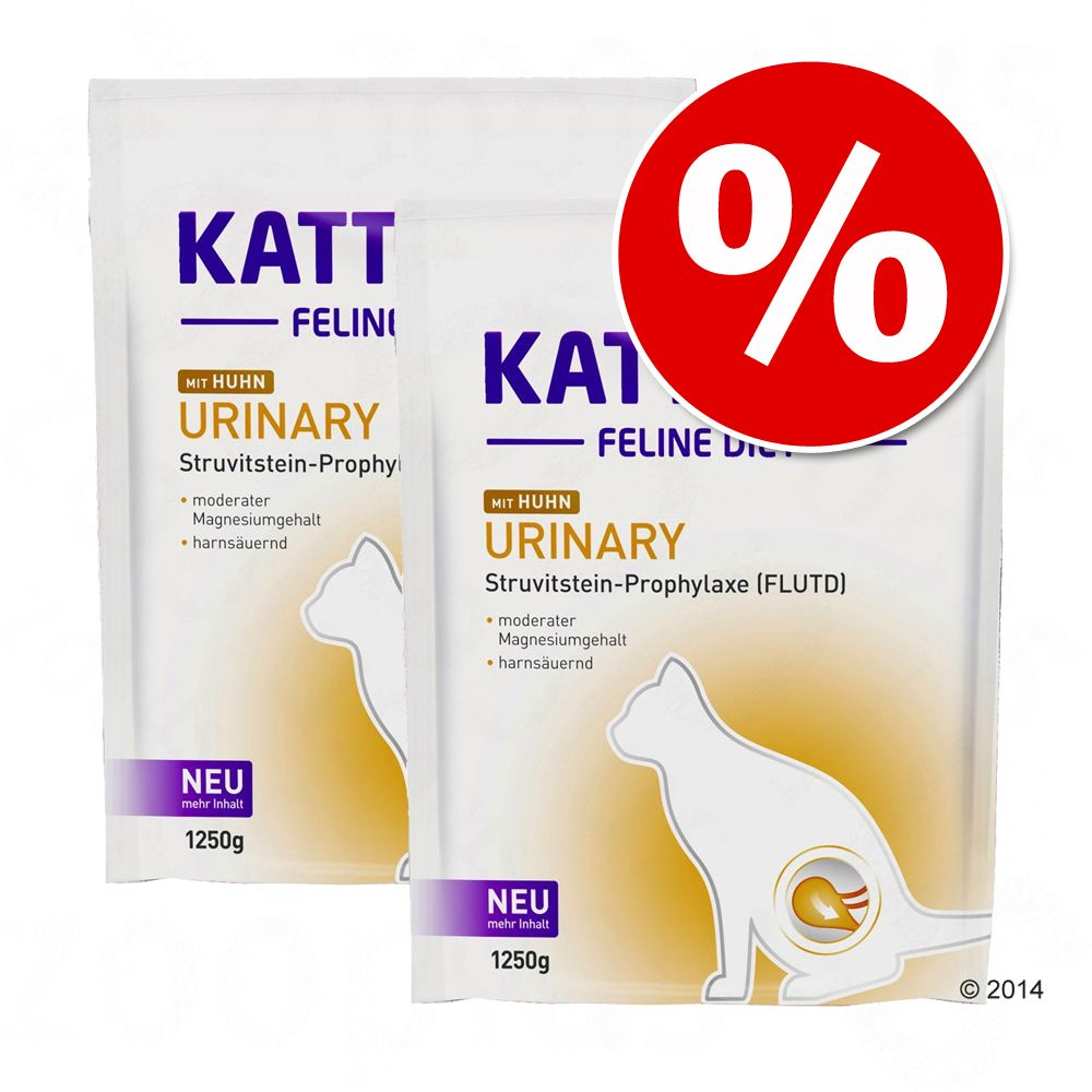 Ekonomipack: Kattovit specialdiet 2 eller 3 påsar - Ekonomipack: Urinary med tonfisk (2 x 4 kg)