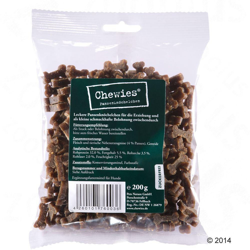 200g Chewies Bone Treats Mixed Pack
