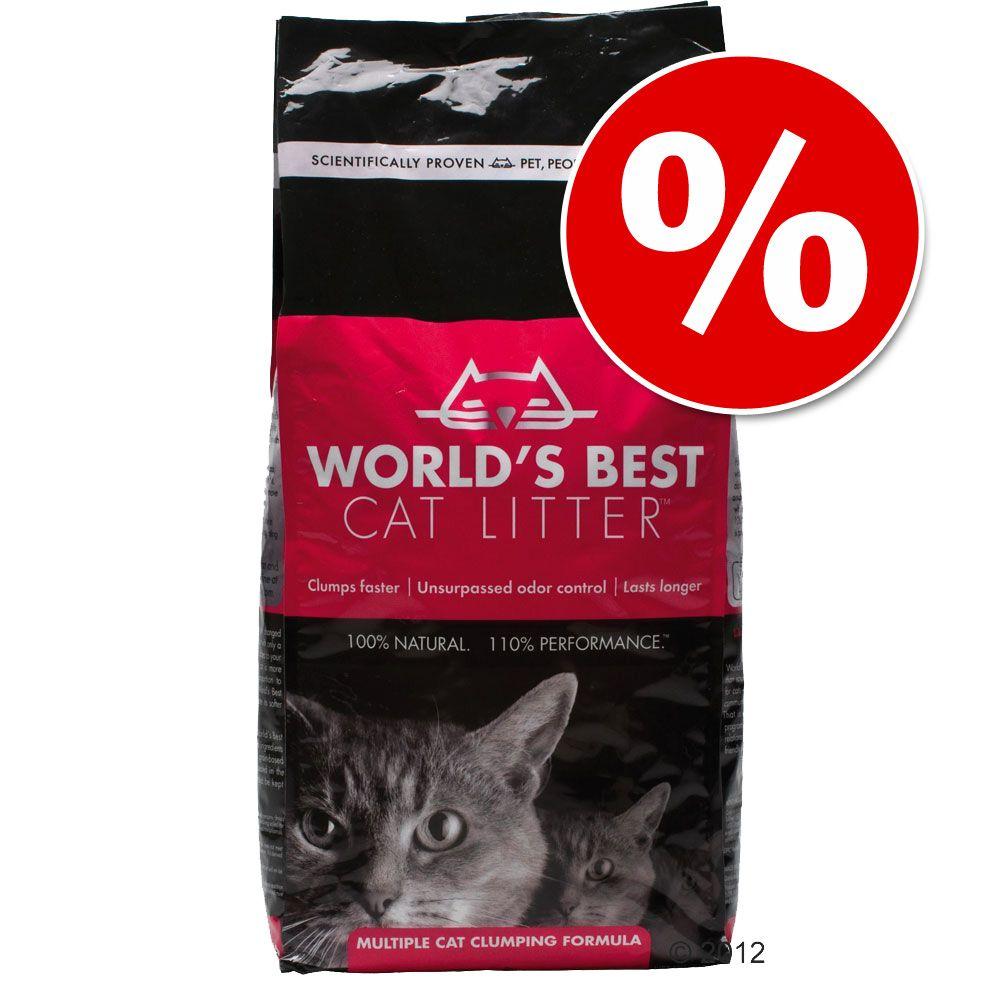 12,7 kg World's Best Cat w super cenie! - Extra żwirek silnie zbrylający się