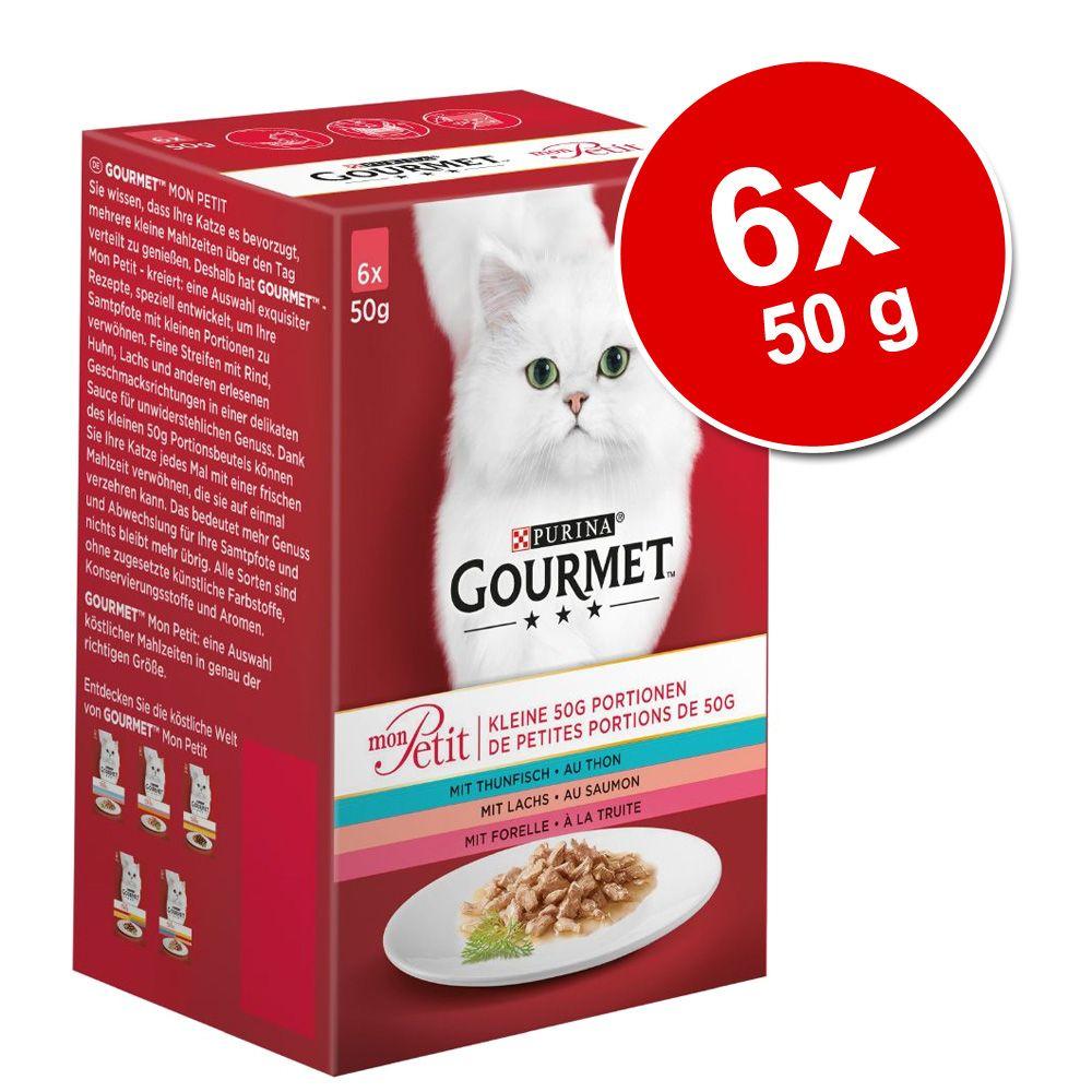 Gourmet Mon Petit, 6 x 50 g - Ryby