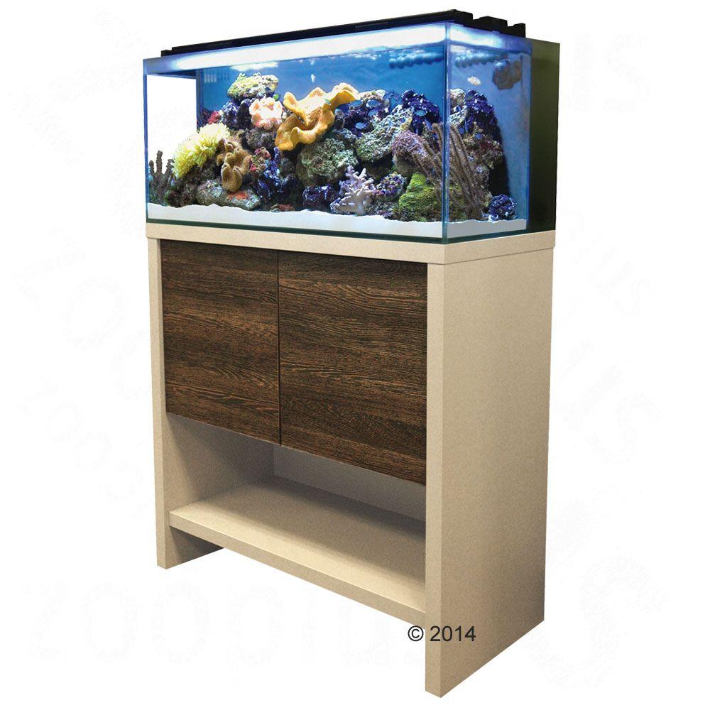 Ensemble aquarium / sous-meuble Fluval Reef - M90, 135 L