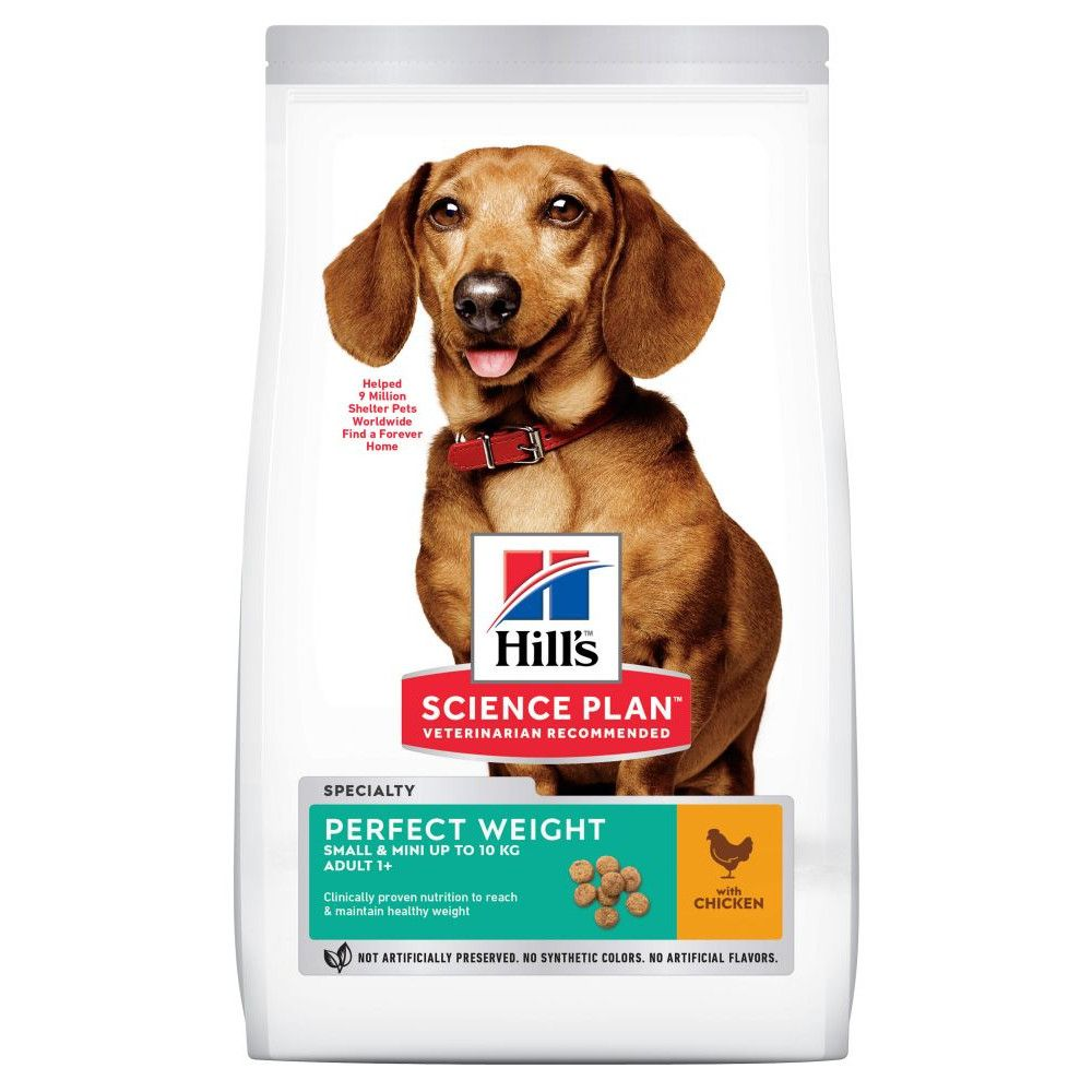 Mini Adult Hill's Science Plan Perfect Weight Dry Dog Food