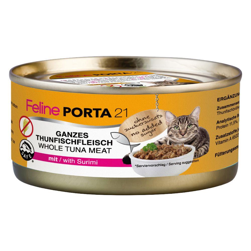 Porta Wet Cat Food - Porta 21