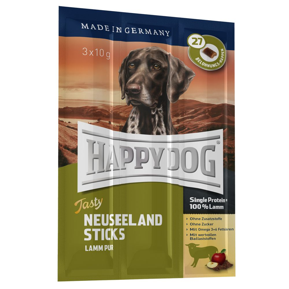 Happy Dog Tasty Sticks Nowa Zelandia - 9 x 10 g
