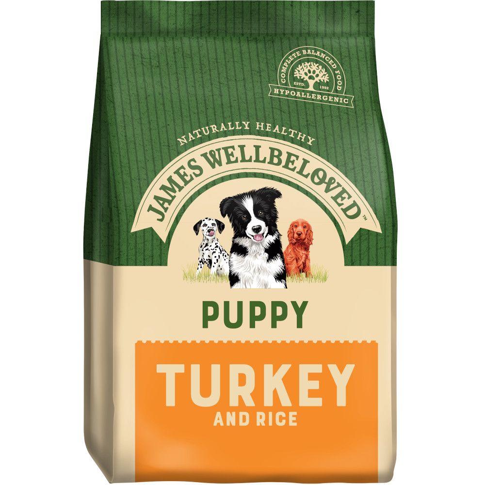James Wellbeloved Puppy - Turkey & Rice - 2kg