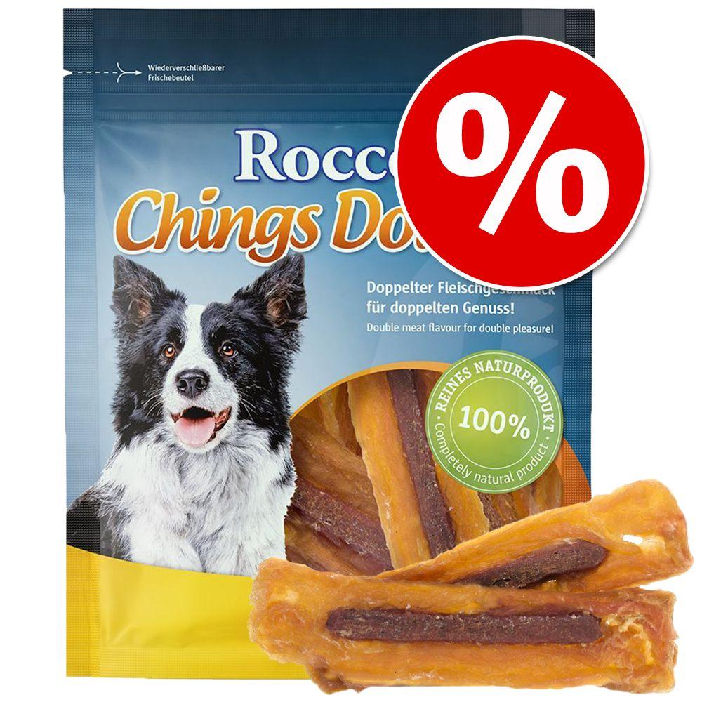 Ekonomipack: Rocco Chings Double – Kyckling & nötkött 12 x 200 g