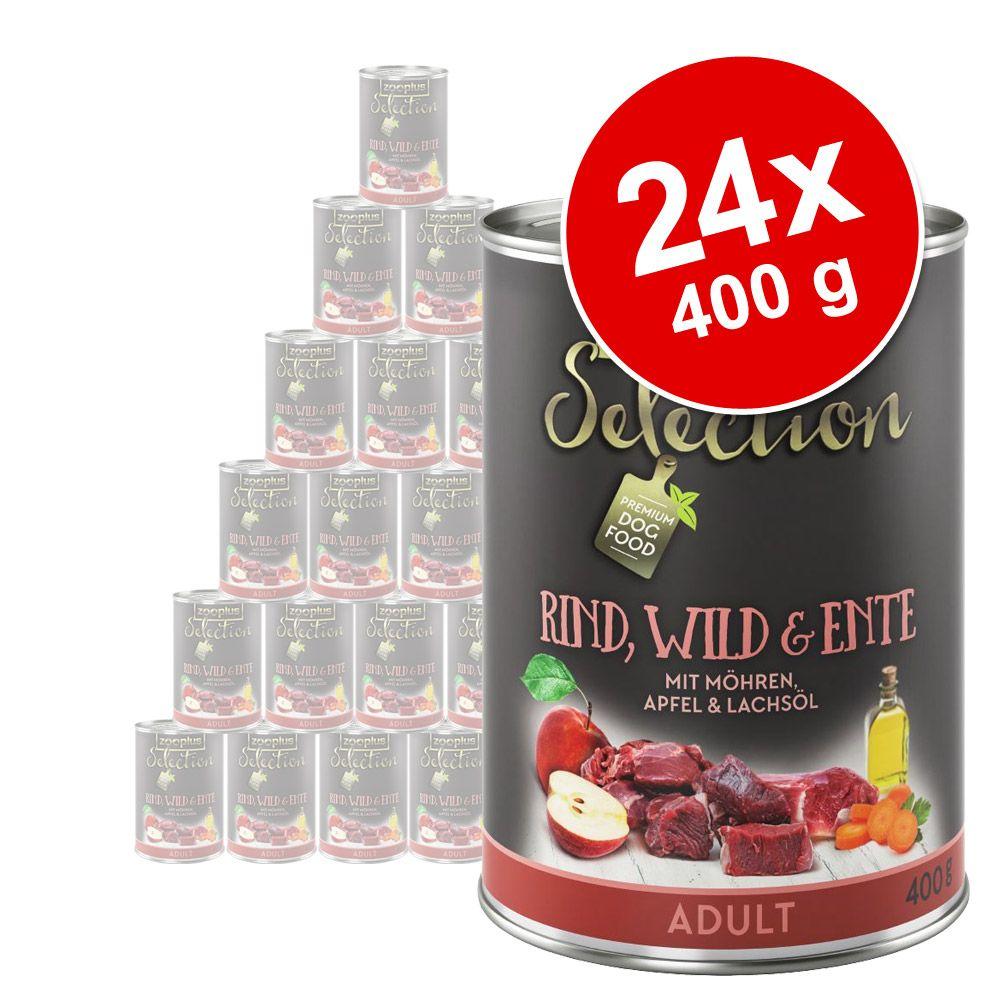 Foto zooplus Selection 24 x 400 g - Senior & Light Pollo Set Risparmio