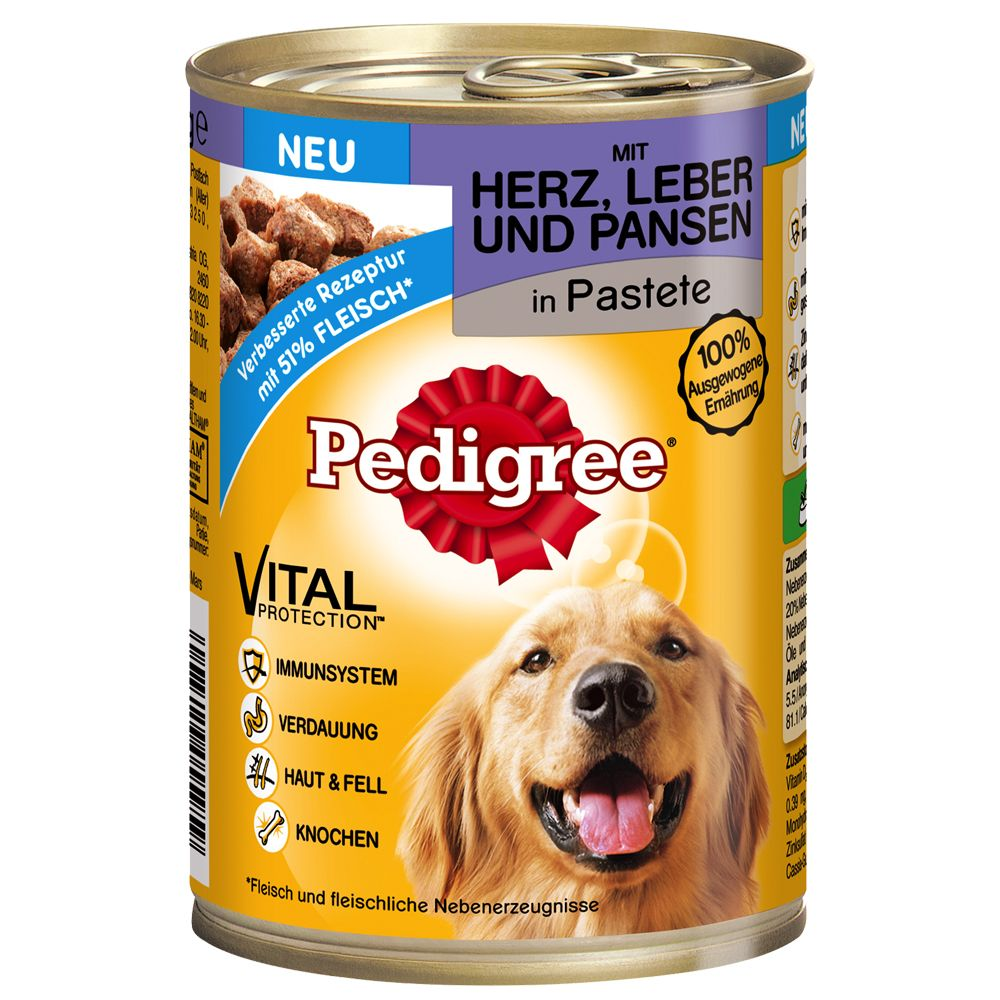 Pedigree Adult Classic 3 Meat Selection Wet Dog Food