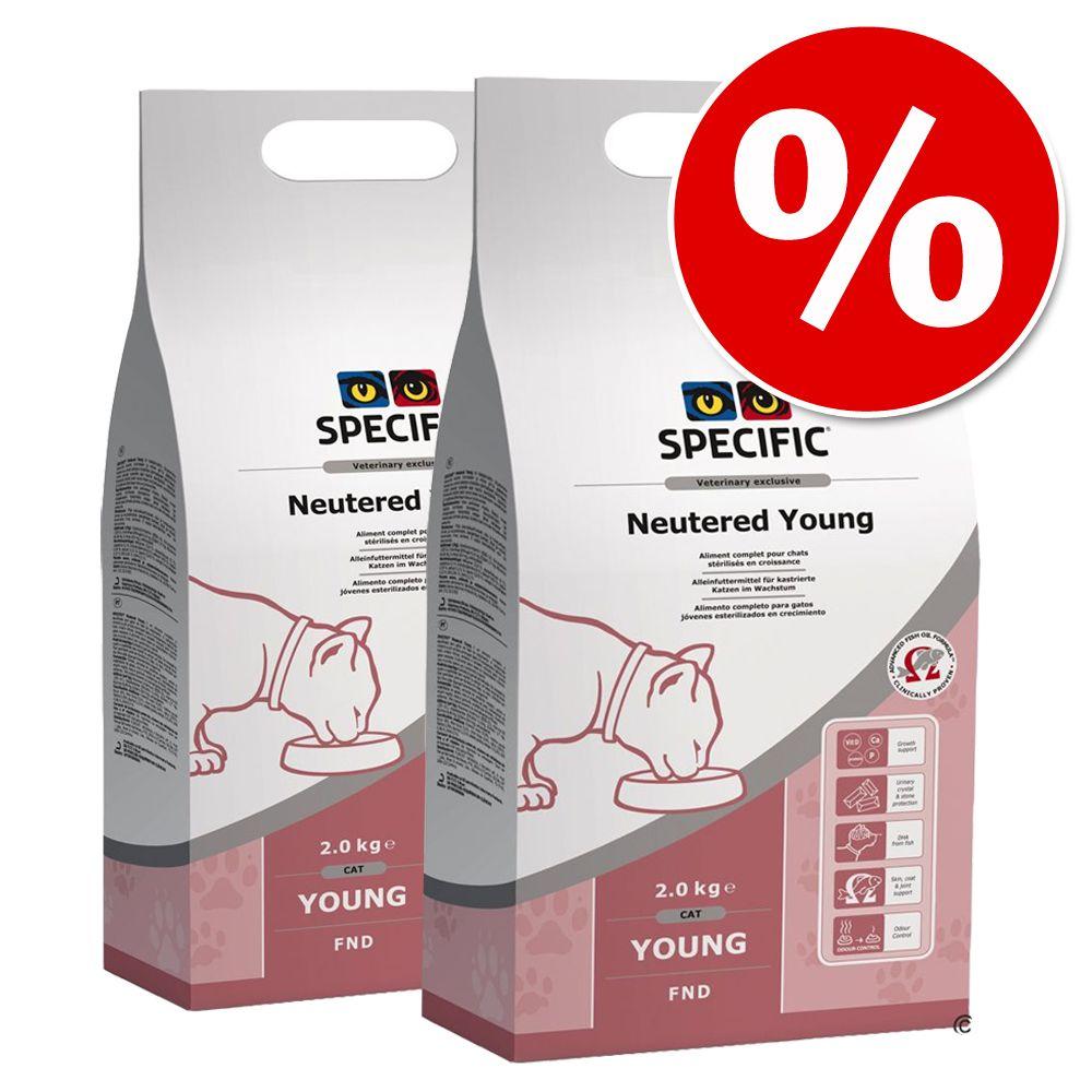 SPECIFIC Veterinary Diet Trockenfutter Sparpaket - Specific Cat FPD Kitten - erhöhter Energiebedarf 2 x 3 kg