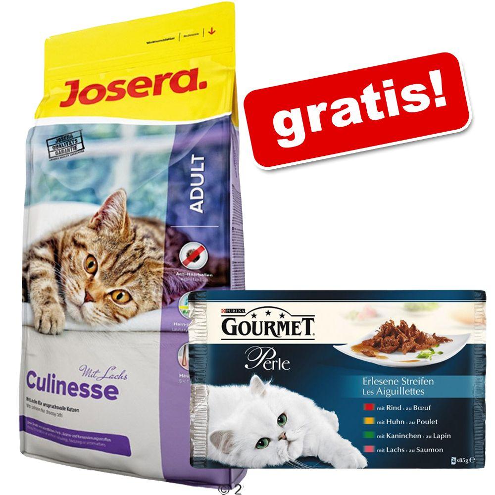 Foto 10 kg Josera + 4 x 85 g Gourmet Perle gratis! - Nature Cat