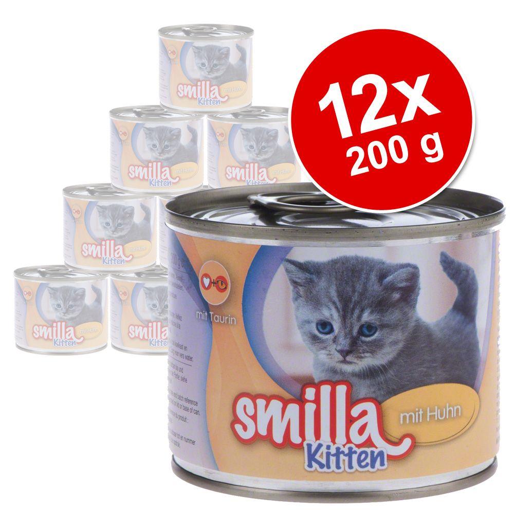 Chat Boîtes et sachets ★ Smilla Lots économiques de boîtes Smilla pour chat