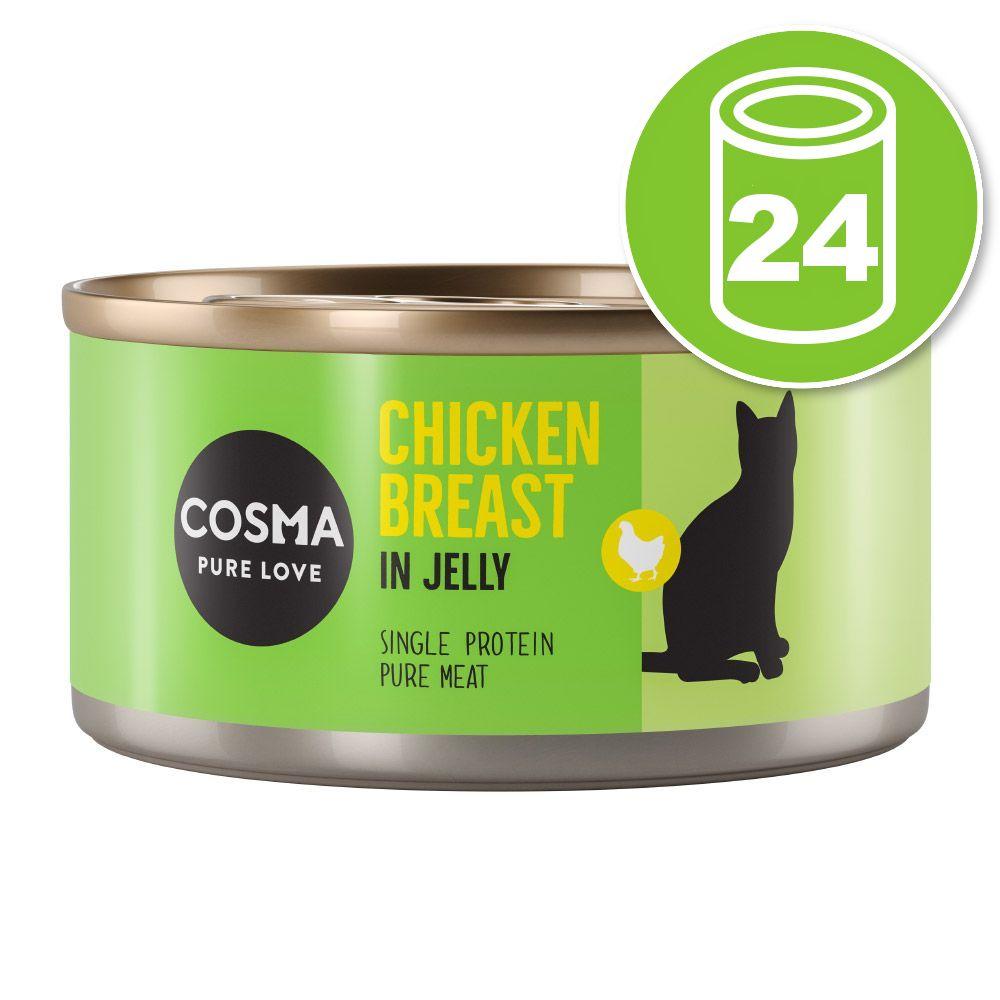 24x170g Cosma Original thon Skipjack - Pâtée pour chat