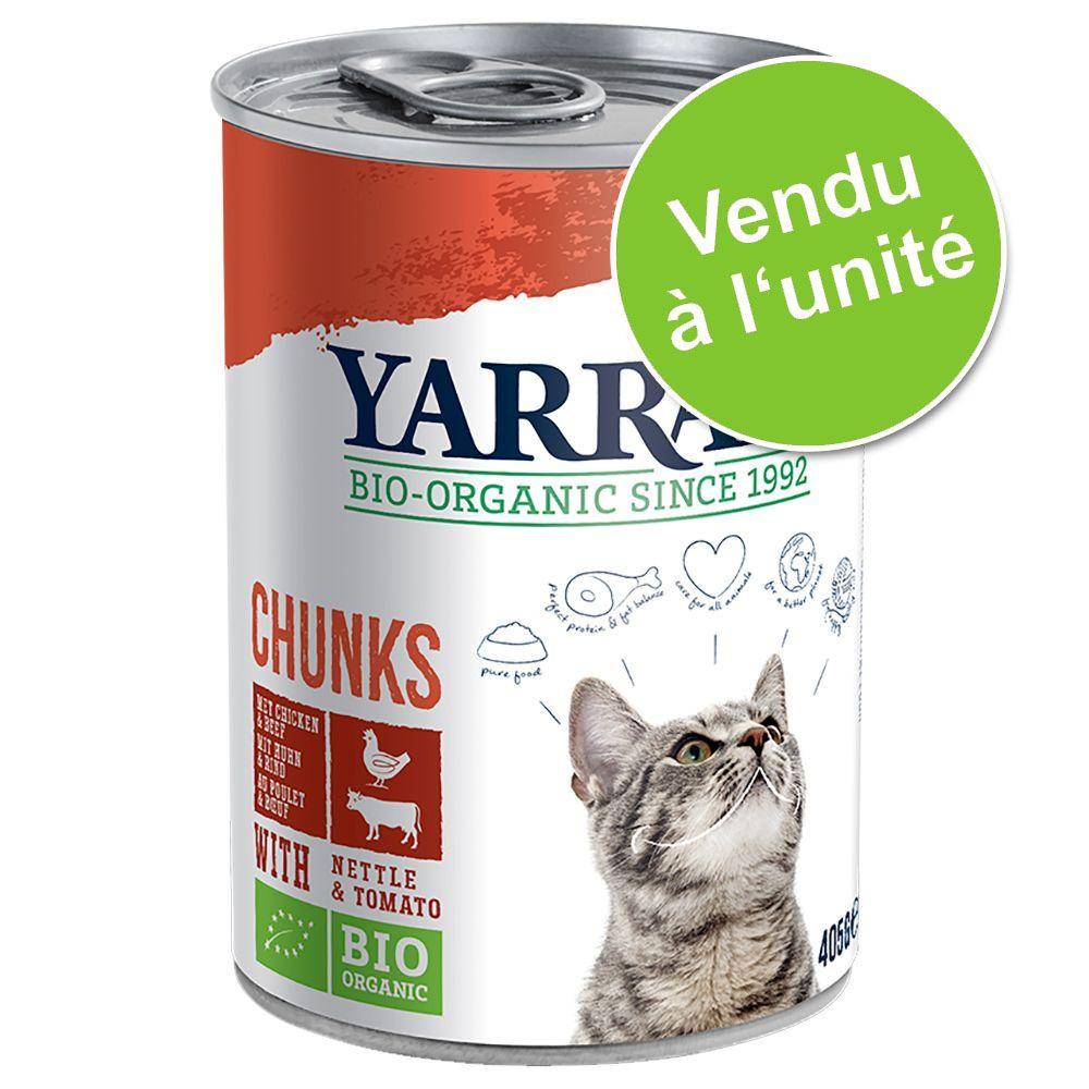 1x405g poulet en sauce Yarrah - Nourriture pour Chat