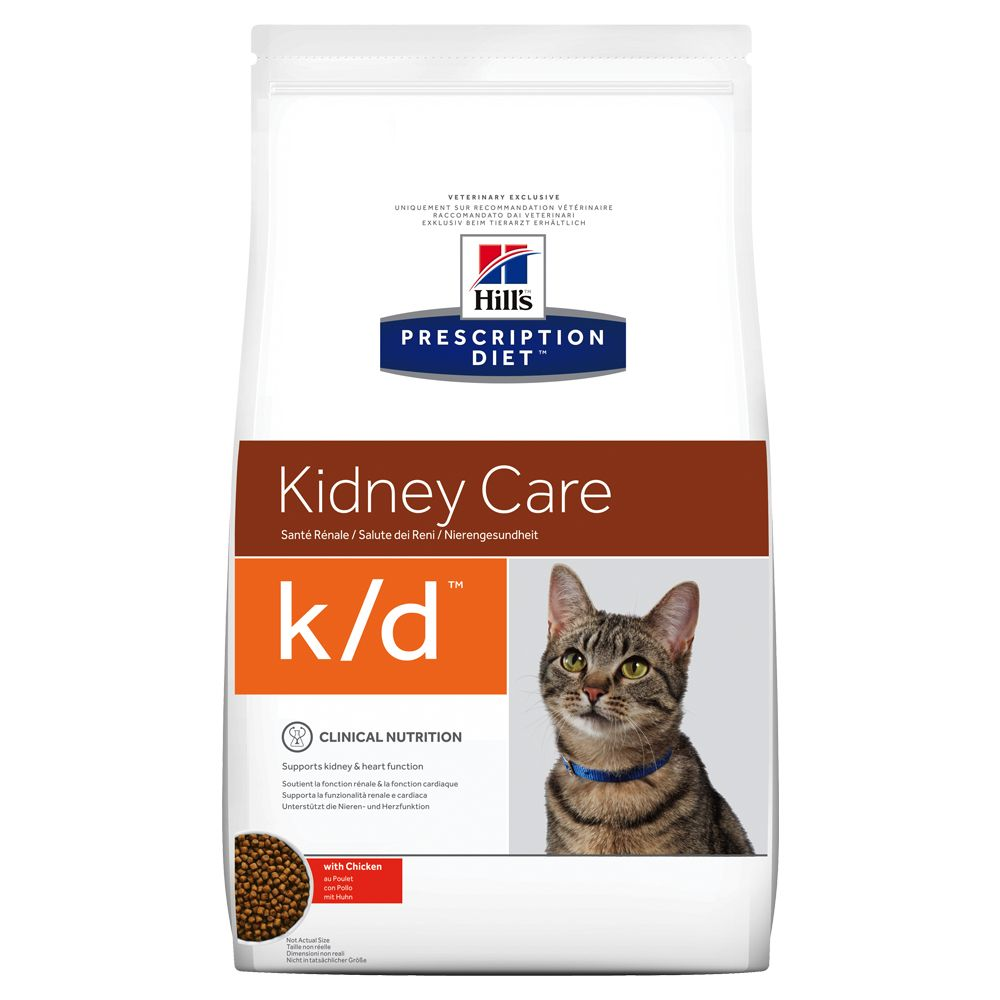 Hill's Prescription Diet Feline k/d Kidney Care - Ekonomipack: 2 x 5 kg