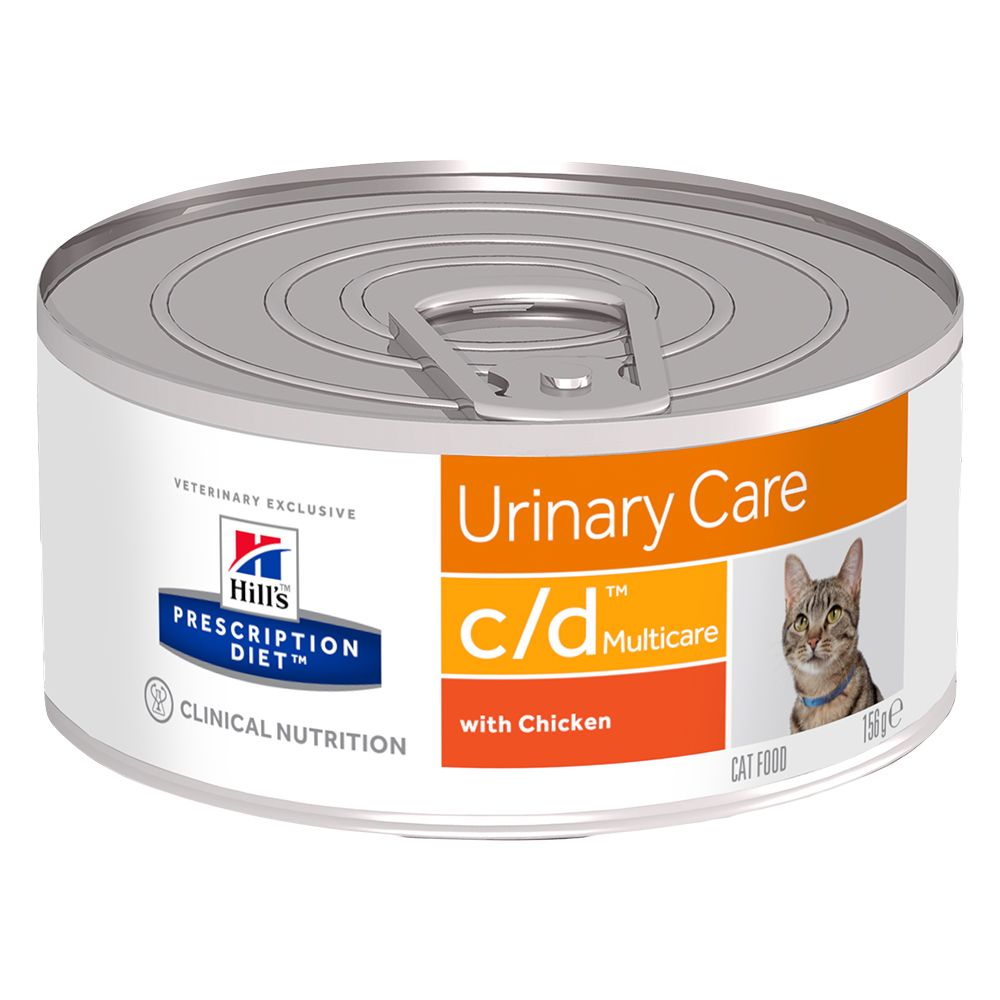 Hill's Prescription Diet Feline c/d Multicare - Ekonomipack: 24 x 156 g