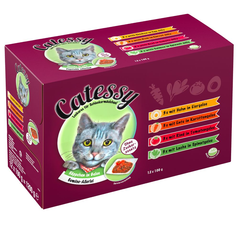 Chat Boîtes et sachets ★ Catessy Sachets pour chat Catessy