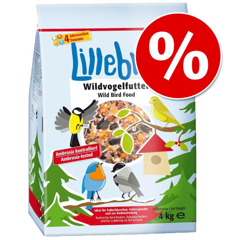4 kg Lillebro Karma dla dzikich ptaków w super cenie! - Karma dla dzikich ptaków