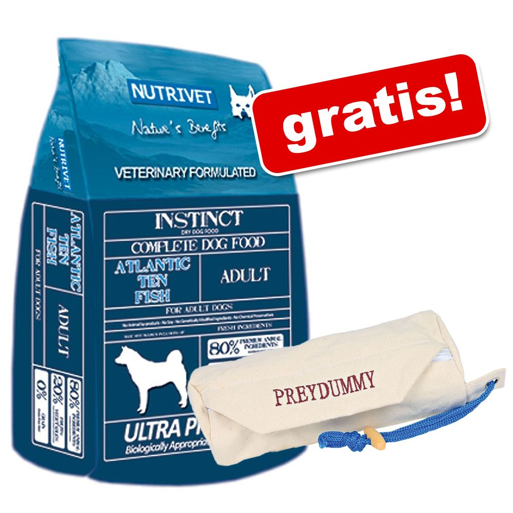 Foto 12 kg Nutrivet Instinct + Preydummy gratis! - Nutritive & Health