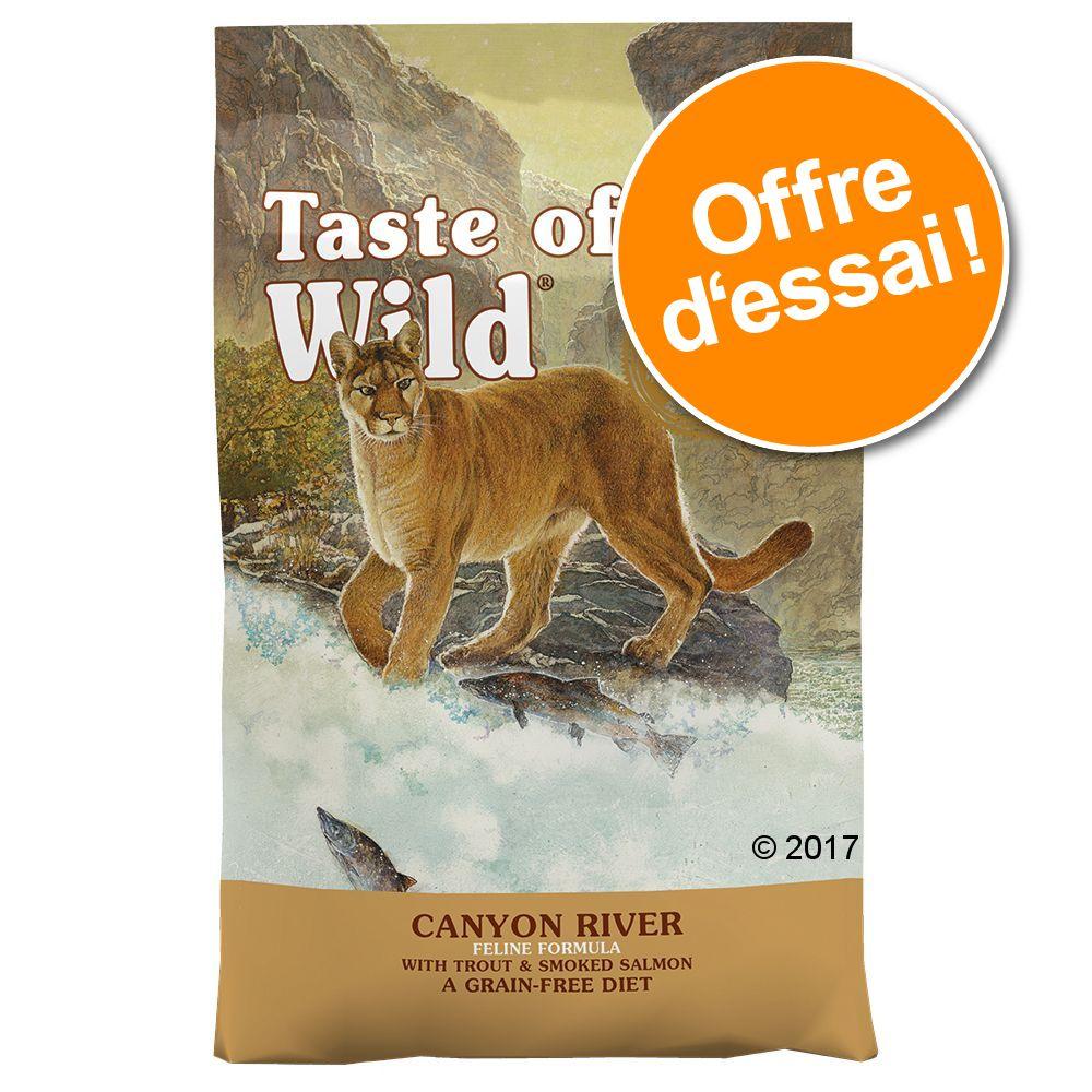 2x2kg Rocky Mountain Taste of the Wild Croquettes