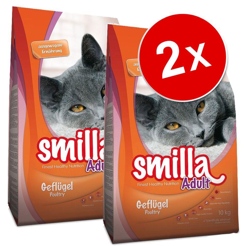 2x10kg Smilla Adult Indoor - Croquettes pour chat