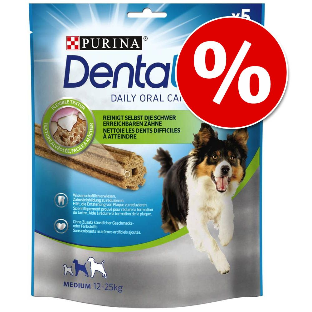 Image of Prezzo speciale! Purina Dentalife Snack - Medium (5 pz - 115 g)