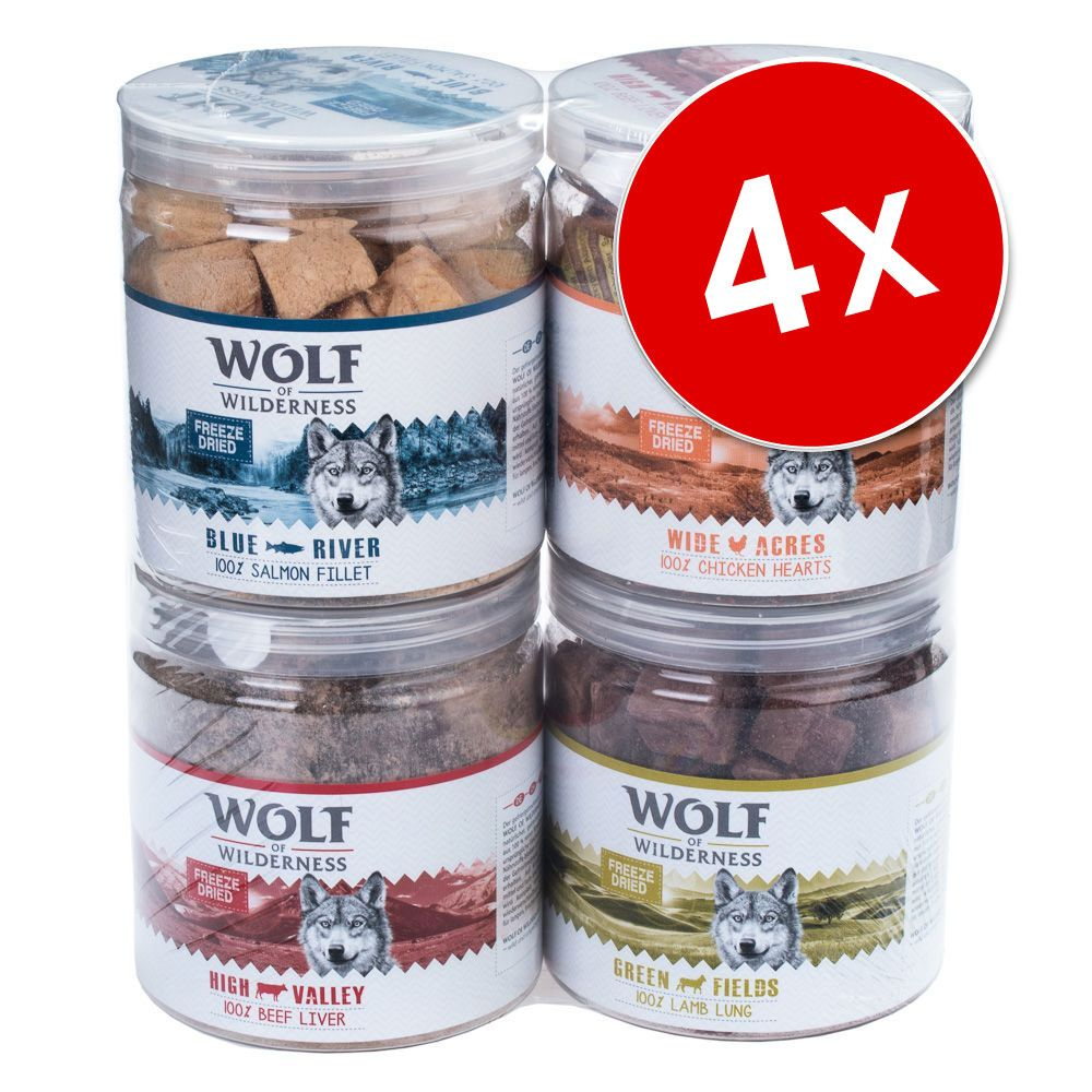Chien Friandises ★ Wolf of Wilderness Friandises lyophilisées