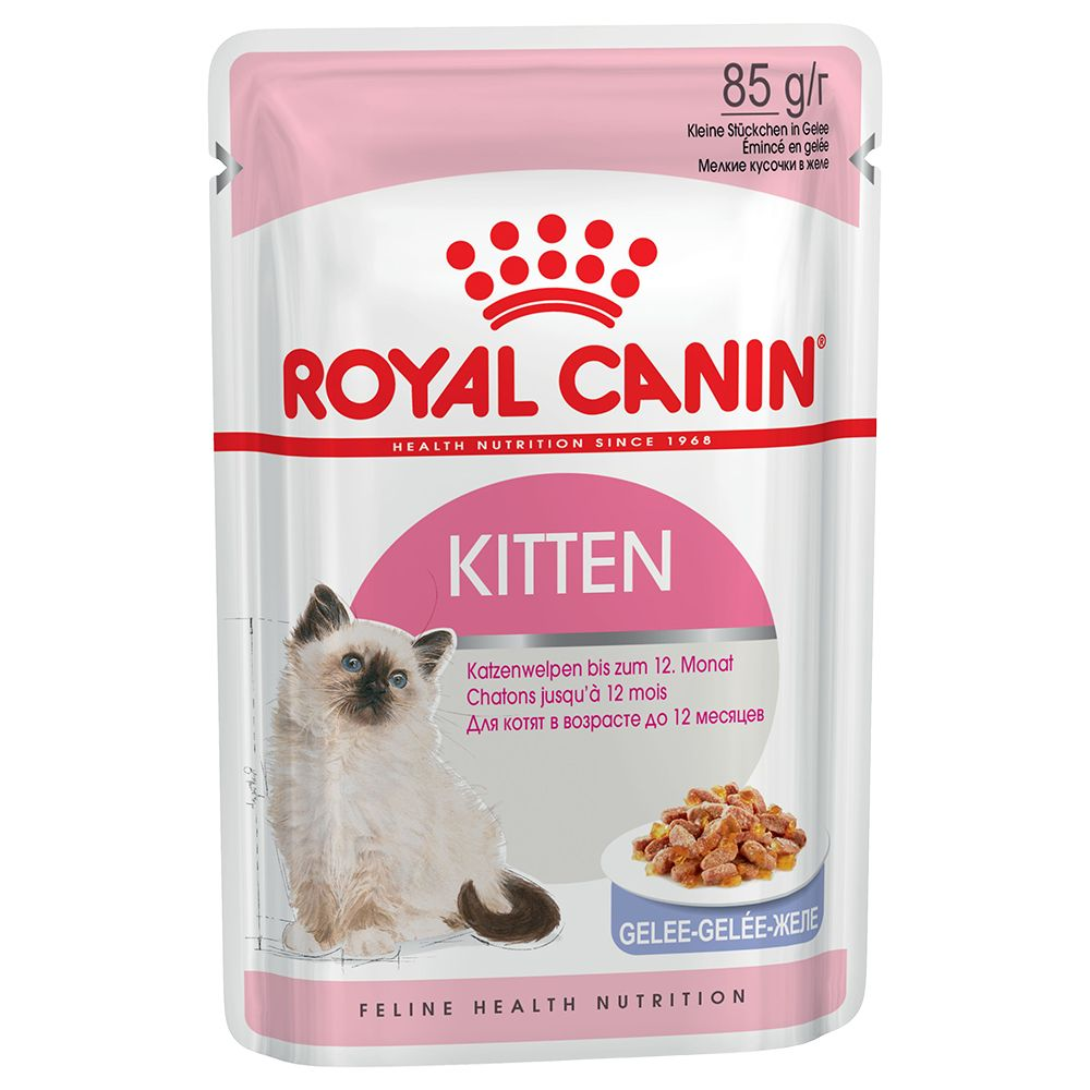Royal Canin Kitten Instinctive i gelé - 12 x 85 g