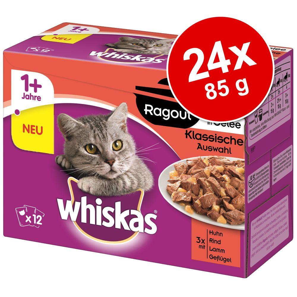 Whiskas 1+ Ragout, 24 x 8