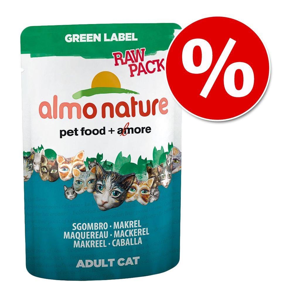 Almo Nature Label, 24 x 55 / 70 g w super cenie! - Azul Label: Tuńczyk i łosoś, 70 g