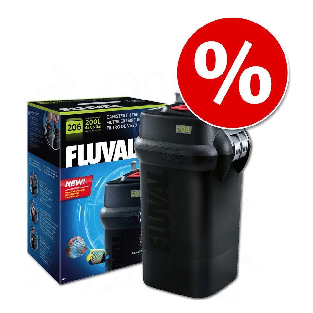 Fluval filtr zewnętrzny kubełkowy, z serii 6 w super cenie! - 206, do 200 litrów