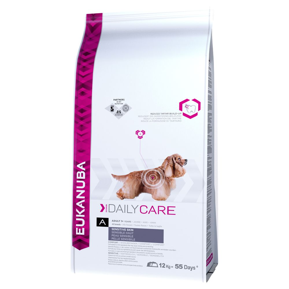 Daily Care Sensitive Skin Eukunuba Dry Dog Food