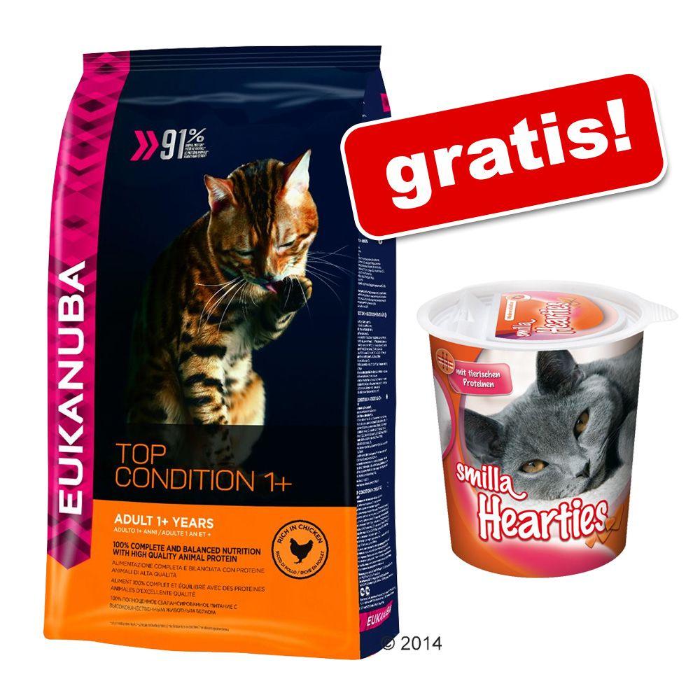 3 kg / 4 kg Eukanuba + Przysmak odkłaczający Smilla Hearties gratis! - Sterilised / Weight Control Adult, 3 kg