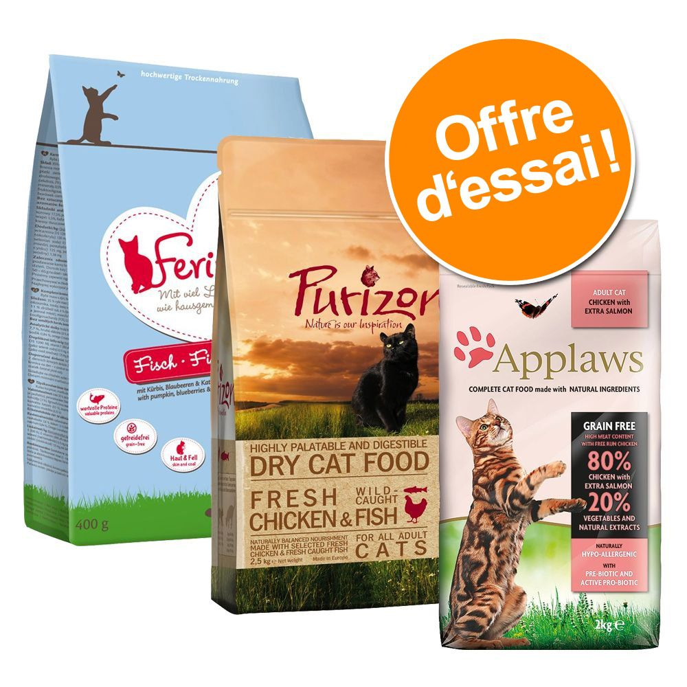 Chat Croquettes ★ Purizon Lots mixtes pour chat Purizon