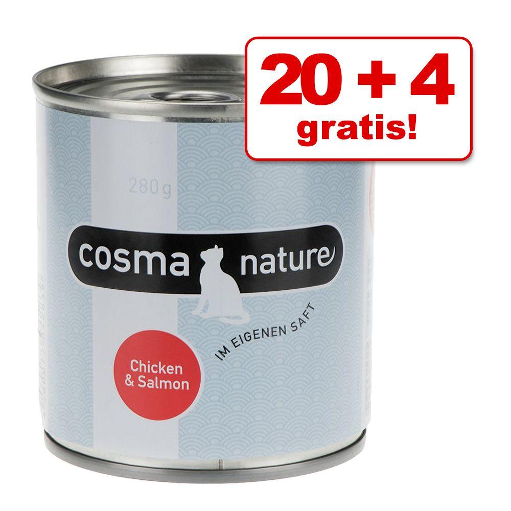 20 + 4 gratis! Cosma Natu