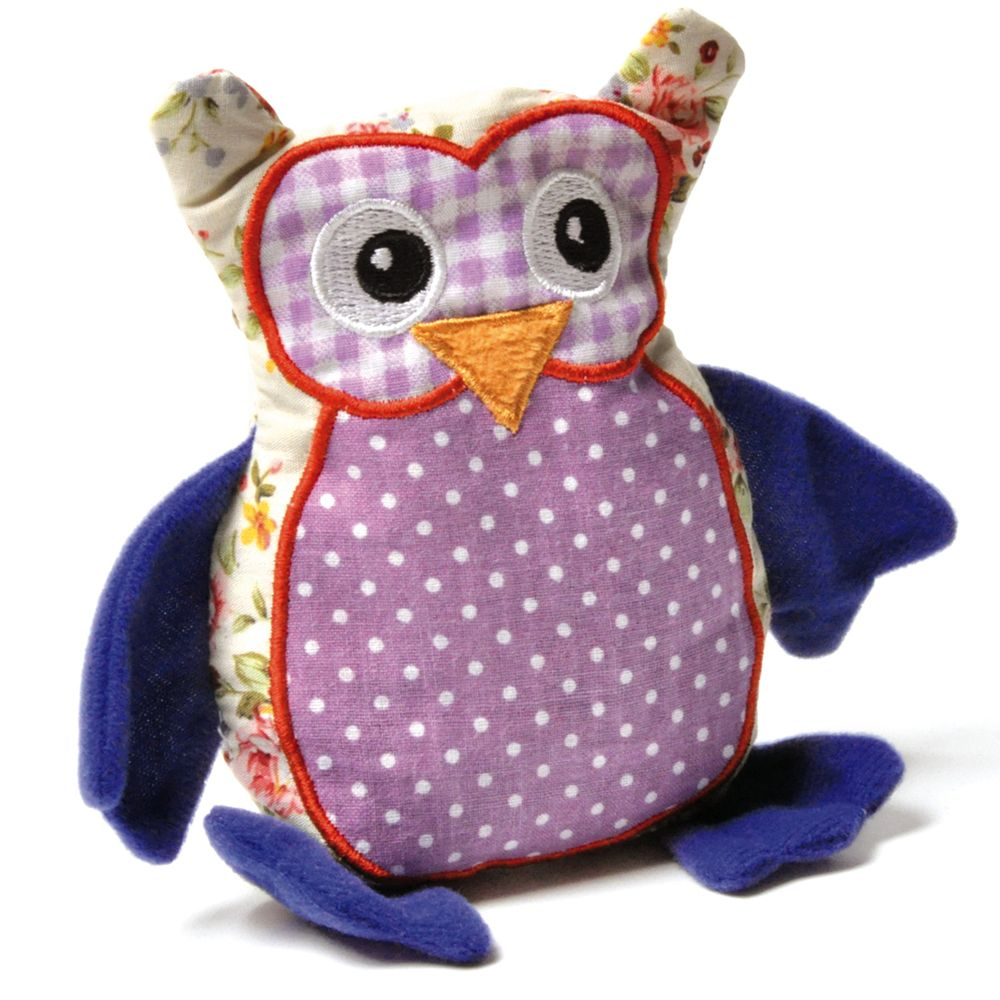 Aumuller Patchwork Owl Cat Toy