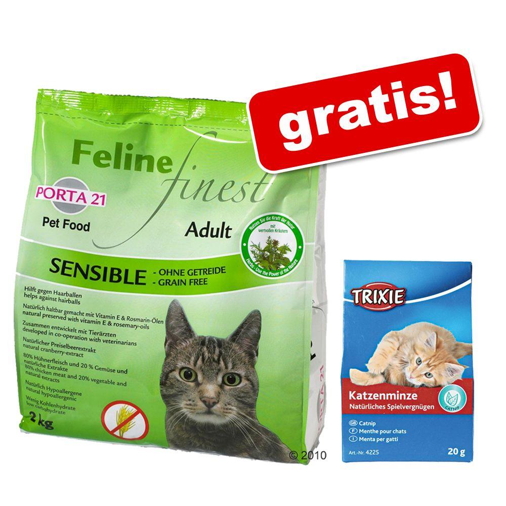 2 kg Porta 21 Feline + Trixie kocimiętka gratis! - Adult Cat