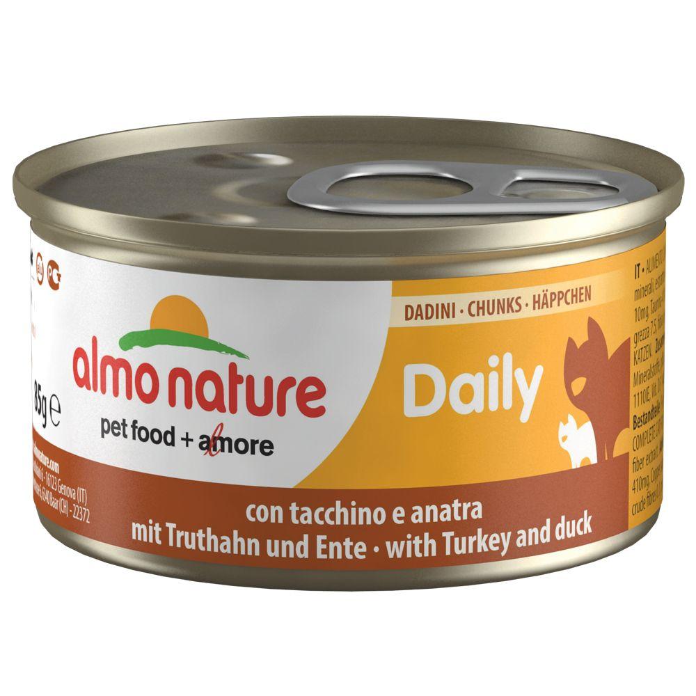 Almo Nature Daily Menu, 6 x 85 g - Mus z kurczakiem