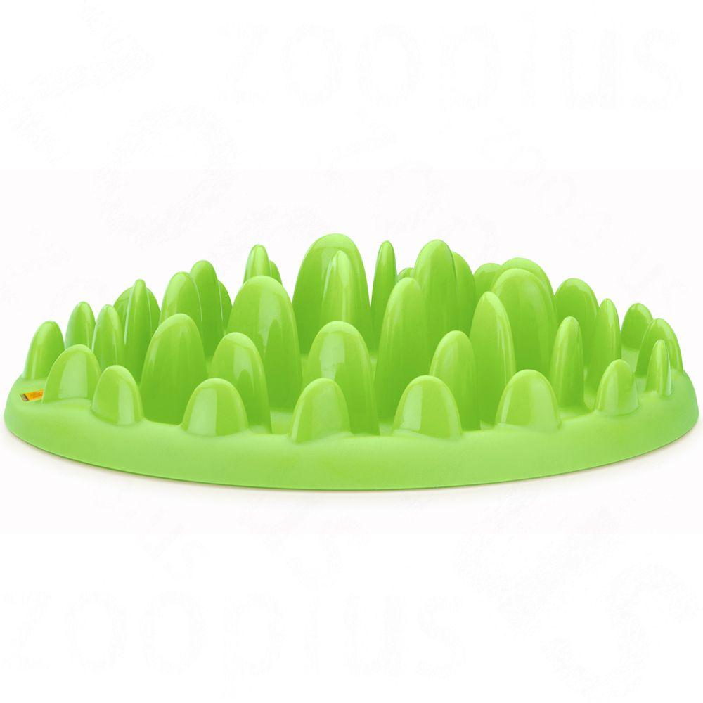 Foto NORTHMATE ® Green Slow Feeder Ciotola - L 40 x P 30 x H 10 cm Giochi di attivazione mentale