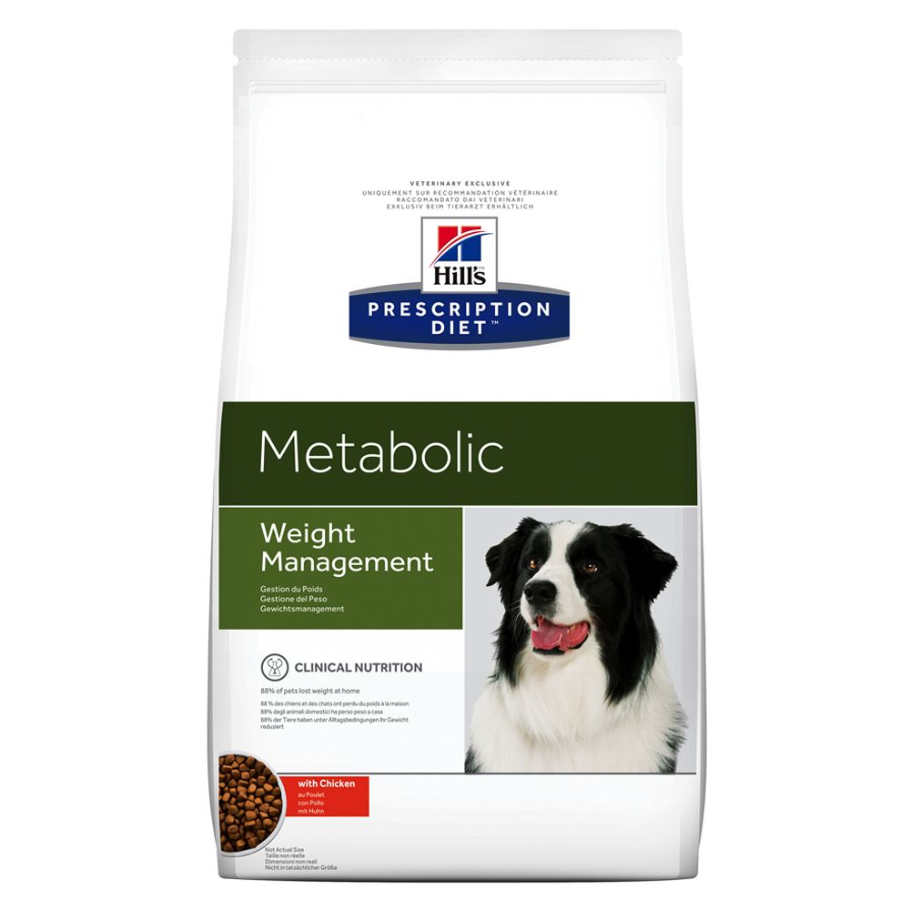 12kg Metabolic Canine Hill's Prescription Diet Dry Dog Food